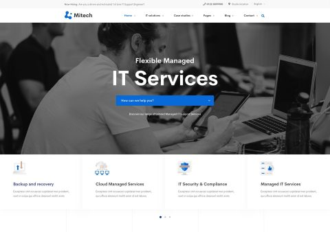 mitech-landing-home-services-preview